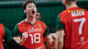 Пламен Константинов и Локомотив (Новосибирск) с 15-а победа в Русия (видео)