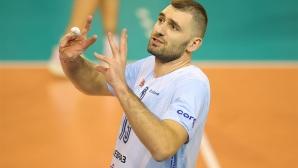 Цецо Соколов пропуска 3 мача, Динамо (Москва) ще разчита на българина за първия финал за Купата на CEV