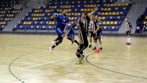Шумен 61 оглави еднолично класирането в мъжкото хандбално първенство