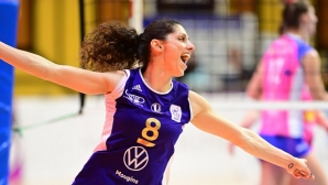 """Ева Янева заби 27 точки! Волеро спечели """"българското дерби"""" на Франция"""