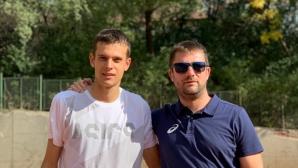 Симеон Терзиев с победа над аржентинец в Анталия