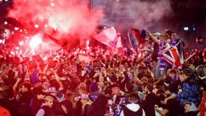 Празненствата на фенове на Рейнджърс доведоха до 28 ареста