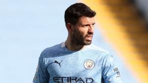 Серхио Агуеро предпочита да остане в Манчестър Сити