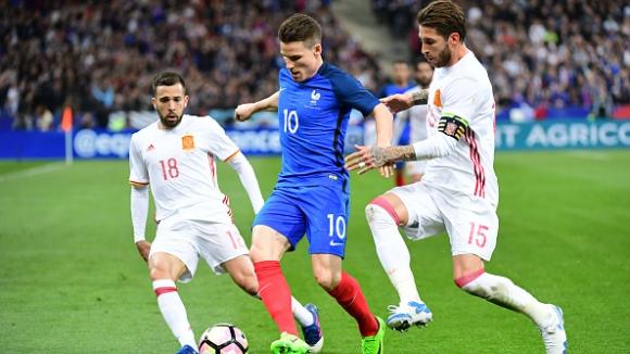 Франция - Испания 0:2