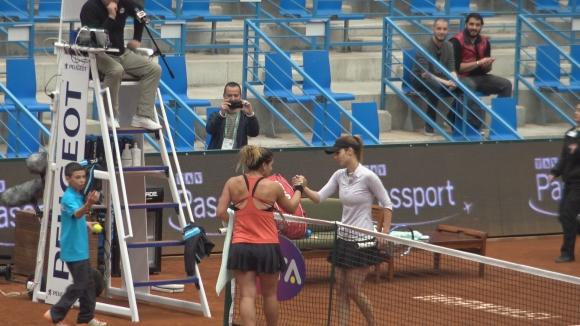 Последната точка на Пиронкова от мача в Истанбул