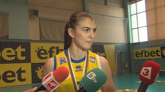 Нася Димитрова: Ще се борим и за Купата