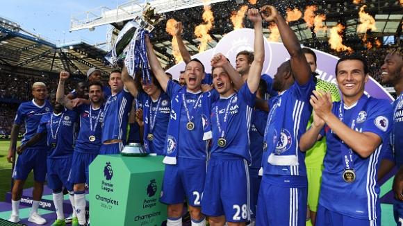 Шампионски трофей, рекорд и голово шоу на Челси в изпращането на Джон Тери