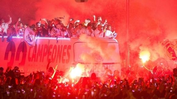 Мадрид не спа, а празнува