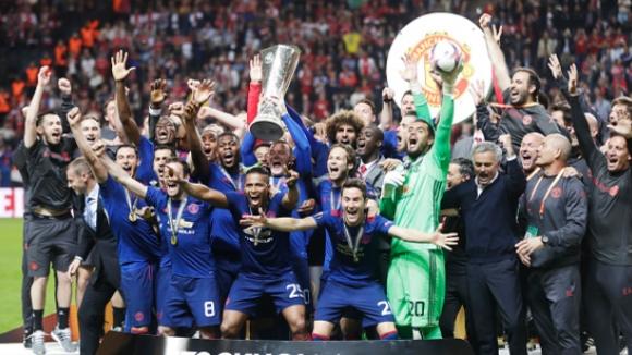 Манчестър Юнайтед е новият шампион на Лига Европа