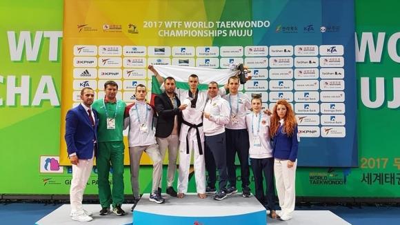Владимир Далаклиев донесе исторически бронзов медал за таекуондото