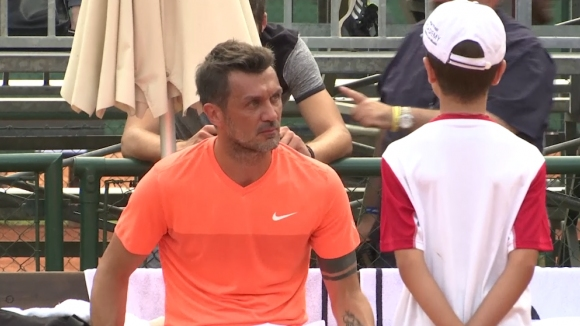 Малдини обяви дебюта си в тениса за бенефис
