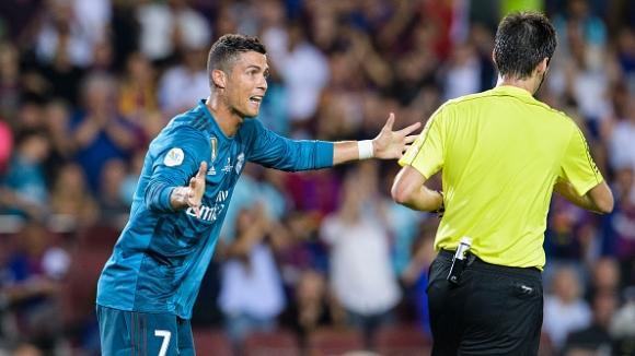 Наказаха Кристиано Роналдо за 5 мача