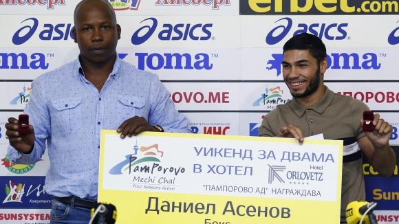 Даниел Асенов избран за най-добър спортист за юни
