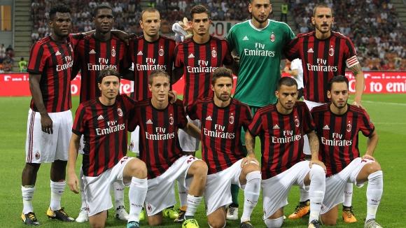 Милан - Шкендия 6:0