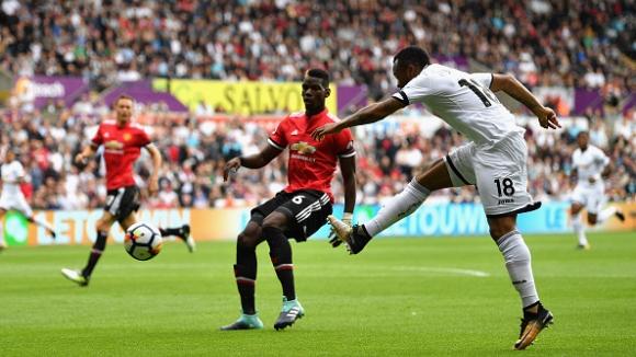 Суонзи - Манчестър Юнайтед 0:4
