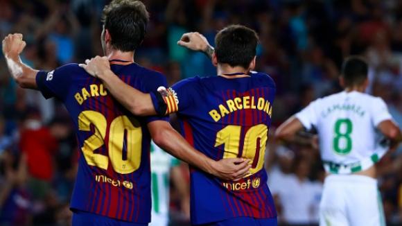 Барселона - Бетис 2:0
