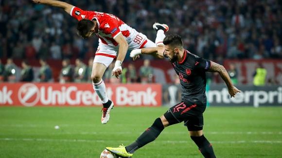 Цървена звезда - Арсенал 0:1