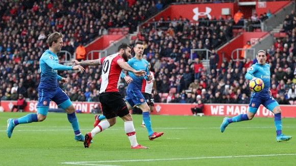 Саутхамптън - Арсенал 1:1