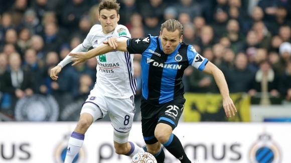 Брюж разгроми Андерлехт в дербито на белгийското първенство