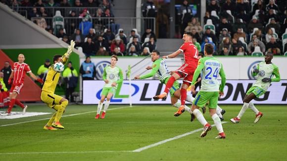 Волфсбург - Байерн (Мюнхен) 1:2
