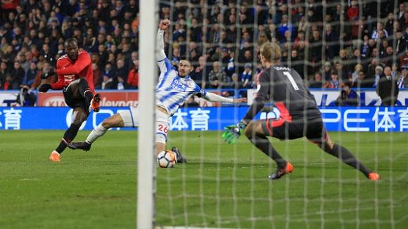 Хъдърсфийлд - Манчестър Юнайтед 0:2
