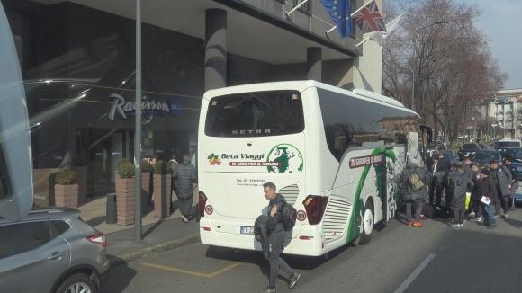 Лудогорец се настани в миланския си хотел