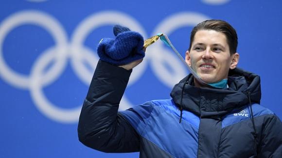 Хиршер не завърши в слалома, а Андре Мирер грабна златния медал