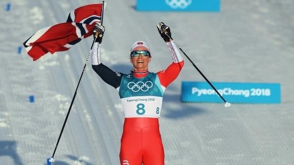 Марит Бьорген спечели осма титла и общо петнадести медал от Олимпиада
