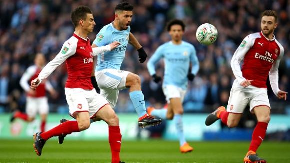 18' Арсенал - Манчестър Сити 0:1