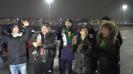 """Феновете на Лудогорец пред стадион """"Сан Сиро"""""""