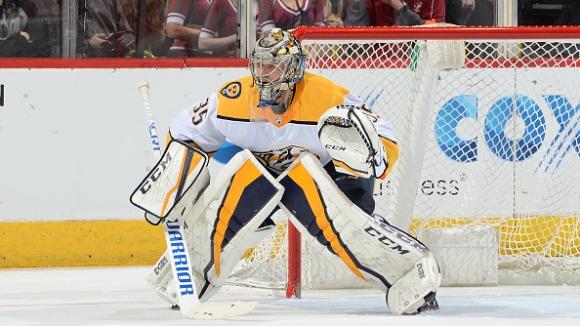 """""""Хищниците"""" първи си осигуриха място в плейофите на НХЛ"""