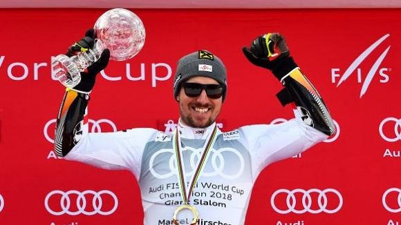 Хиршер се забавлява! Австриецът изравни рекорд на Стенмарк и Майер