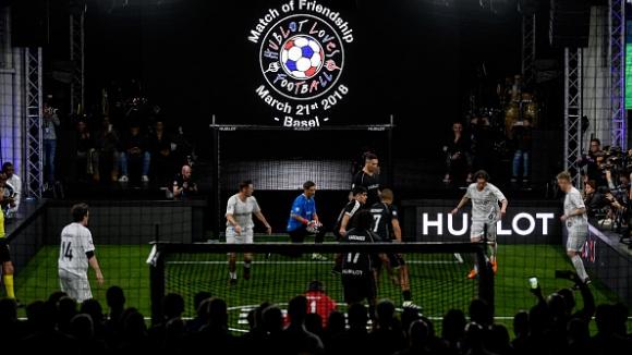 Световни звезди се събраха в Базел за мача на приятелството