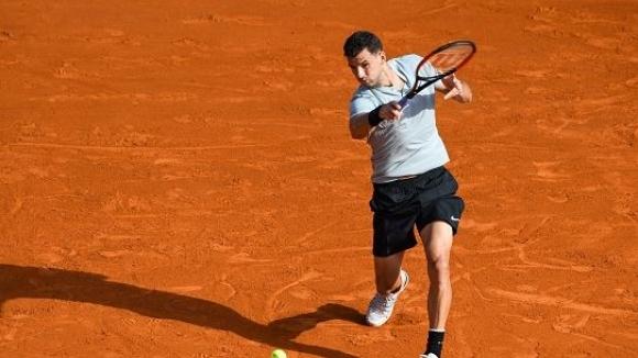 Нов впечатляващ обрат и 3 години по-късно Григор пак е на 1/4-финал в Монте Карло
