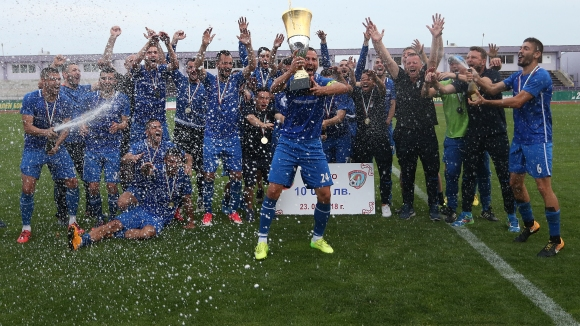 Арда (Кърджали) вдигна Купата на Аматьорската лига след драма във Велико Търново