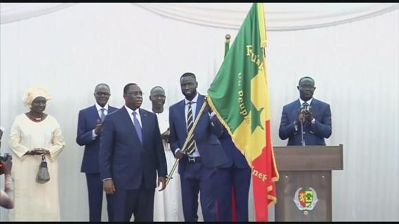 Президентски почести за Сенегал преди световните финали