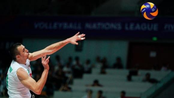 България измъкна ценна победа над Китай на старта на ВНЛ