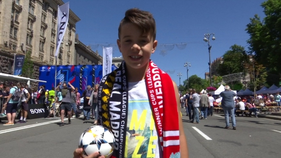 Празникът на шампионите в Киев, видян от камерата на Sportal.bg