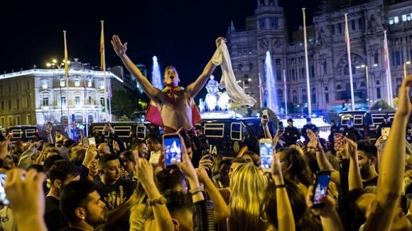 Мадрид не спа след 13-ата