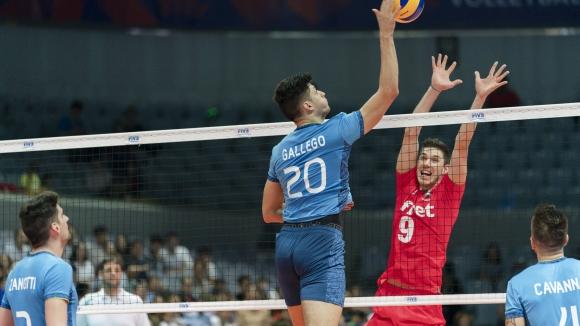 България победи Аржентина с 3:1 гейма