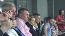 Гиби и Топчо гледат Левски срещу Верея