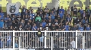 Сините ултраси ликуват след гола на Паулиньо