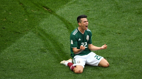 Мексико поведе на Германия след страхотна контраатака и гол на Лосано