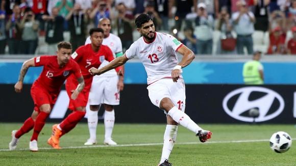 Тунис изравни на Англия с дузпа