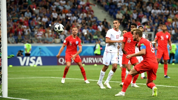 Кейн даде аванс на Англия с втория си гол срещу Тунис