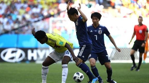 Самураите от Япония изненадаха Колумбия