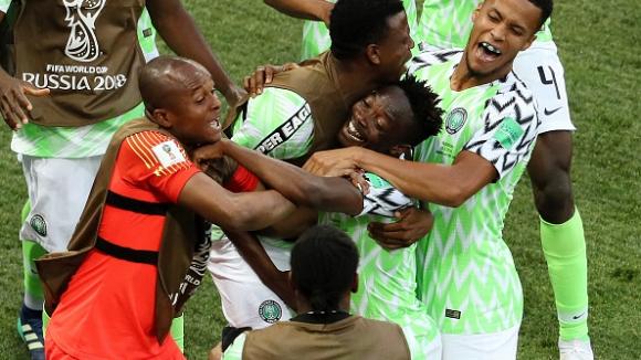 Майсторски гол на Ахмед Муса даде преднина на Нигерия срещу Исландия