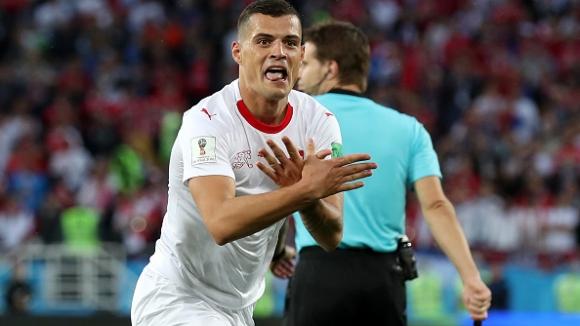 С топовен удар Джака изравни за Швейцария срещу Сърбия
