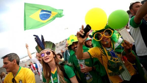 Бразилска радост след късния успех над Коста Рика