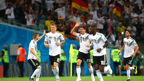 Германия победи коравите шведи с брилиянтен гол на Кроос